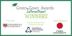 International Green Gown Awards Winners
