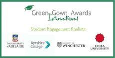 International Green Gown Awards Student Engagement Finalists