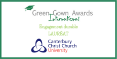 Des International Green Gown Awards Engagement Durable Lauréat