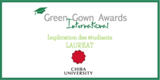 Des International Green Gown Awards Implication des Étudiants Lauréat