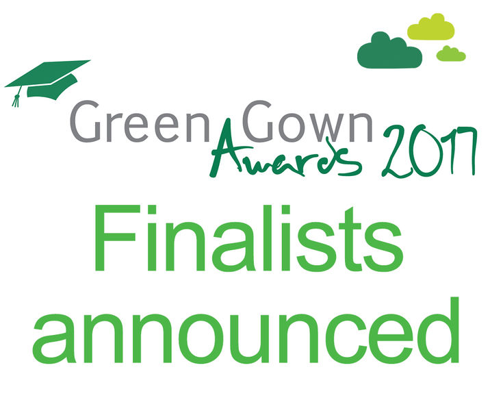 Green Gown Awards Uk and Ireland 2017 announces finalists! | Green ...