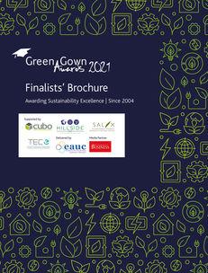 Green Gown Awards UK & Ireland 2021 Finalists' Brochure