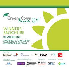 Green Gown Awards 2017 UK & Ireland Winners' Brochure