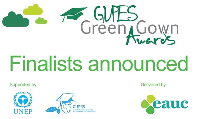 2016 GUPES Green Gown Awards Finalists | Green Gown Awards