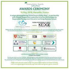 International Green Gown Awards Ceremony