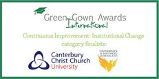 International Green Gown Awards Continuous Improvement Finalists