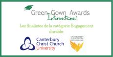 FR Annonce des finalistes des International Green Gown Awards 2017-2018 image #1