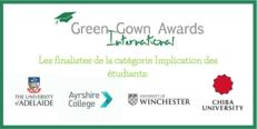 FR Annonce des finalistes des International Green Gown Awards 2017-2018 image #2
