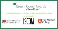 FR Annonce des finalistes des International Green Gown Awards 2017-2018 image #3